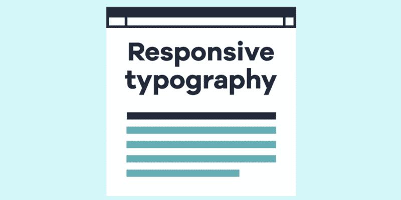Типографика, основанная на единицах вьюпорта
