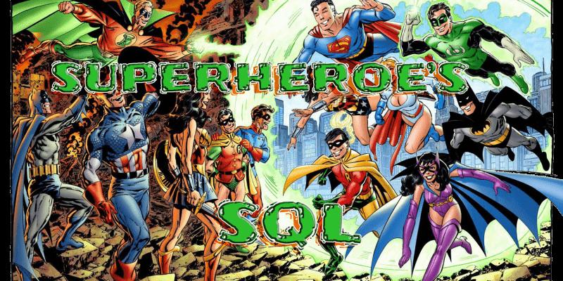 Супергеройское введение в SQL