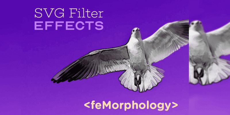 Эффекты SVG-фильтров: контур текста с feMorphology